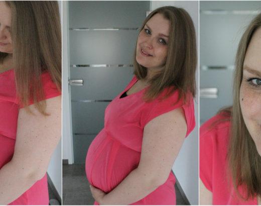 Baby Bump update – 27 Schwangerschaftswoche 3d Ultraschall, Zuckertest und Muttermund Trichter