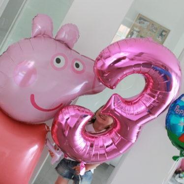 Peppa Wutz Party – Lias dritter Geburtstag!