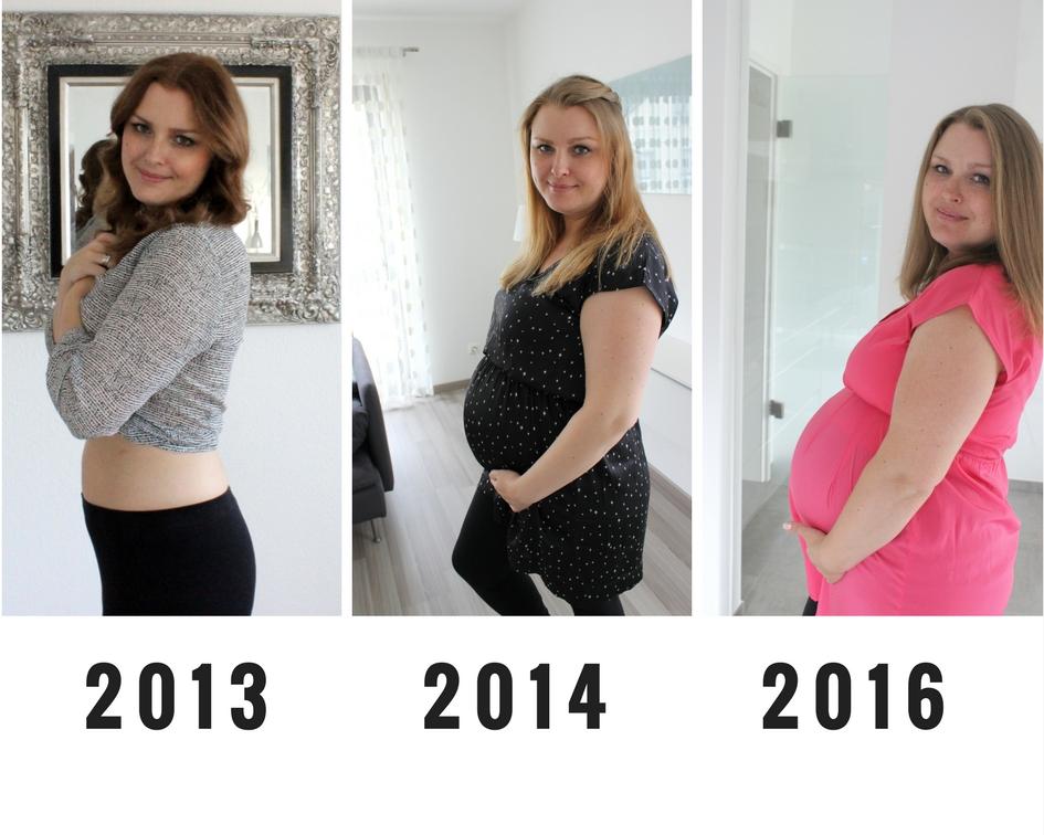 Ich habe viel zugenommen