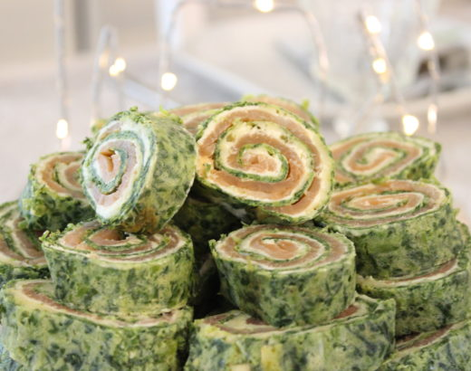 Spinat Lachsröllchen – Die punktefreundliche Weight Watchers Variante