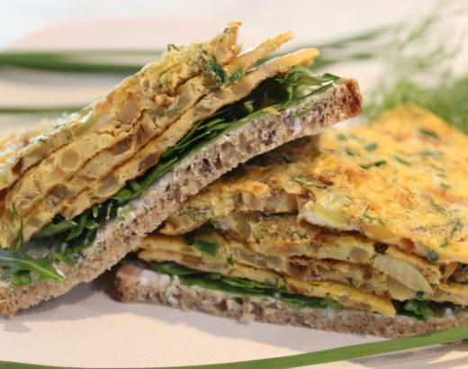 Wochenrückblick #5 & mein 5 Minuten Kräuter Zwiebel Omelett