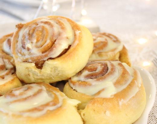 Die BESTEN Cinnamon Rolls EVER – Schmecken garantiert JEDEM!