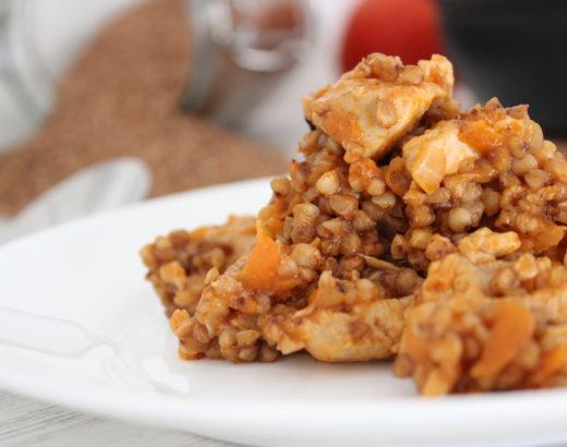 Essen für Kinder – Buchweizen mit zarter Hähnchenbrust
