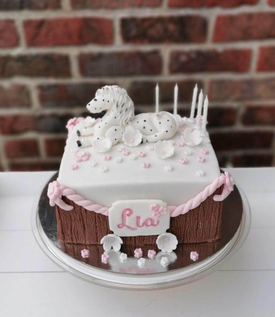 Geburtstagstorte für Pferdefans