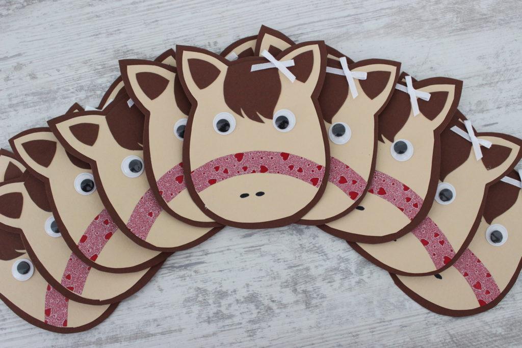 Einladungskarten zum Ponygeburtstag